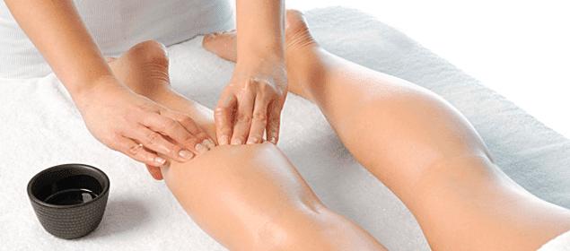masaje contra la retención de líquidos