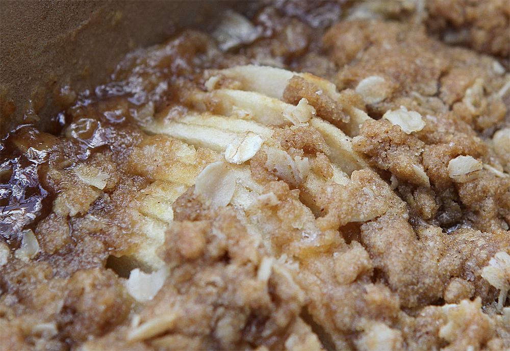 how to keep apple crisp crispy