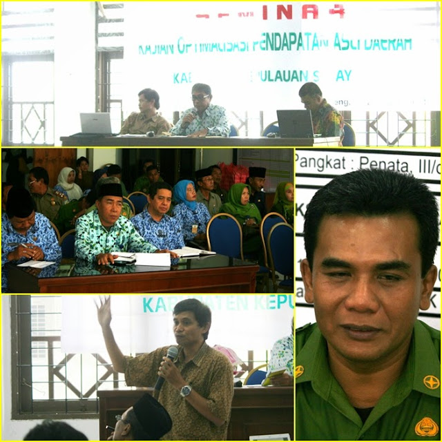 Drs Natsir Taba MM , Buka ,Seminar, Optimalisasi ,PAD