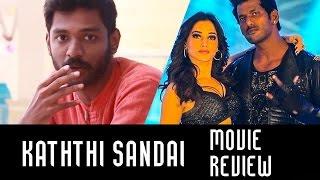 Kaththi Sandai Movie Review