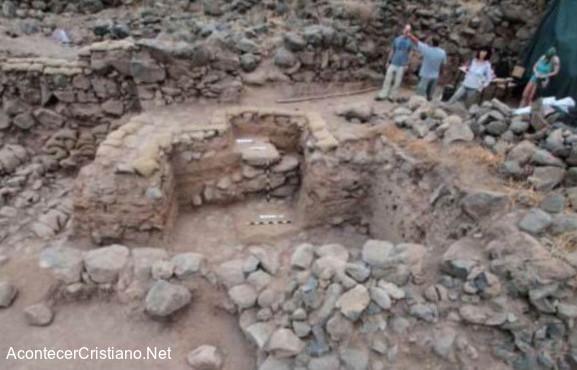 Ruinas de la ciudad bíblica de Betsaida