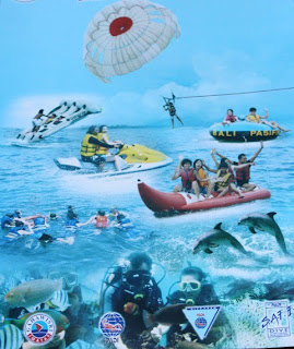 Perjalanan ke Bali main watersport murah