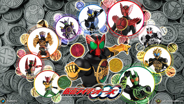 Download Kamen Rider OOO Sub Indo