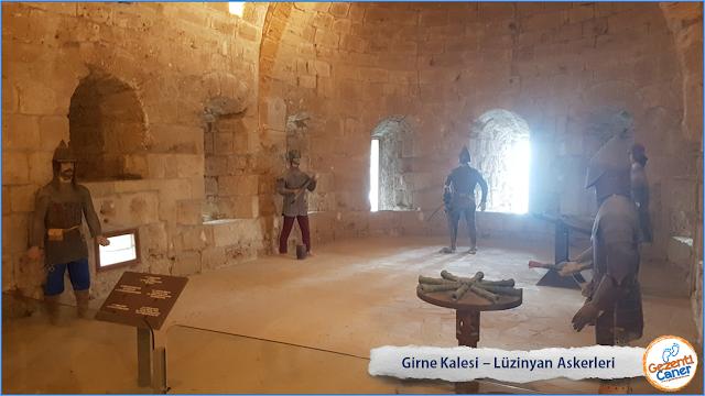 Girne-Kalesi-Luzinyan-Askerleri