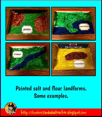 salt and flour landforms