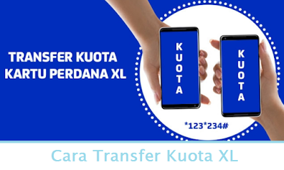 Cara Transfer Kuota XL (Termudah.com)