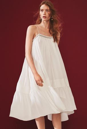 H&M verano 2016 vestido blanco
