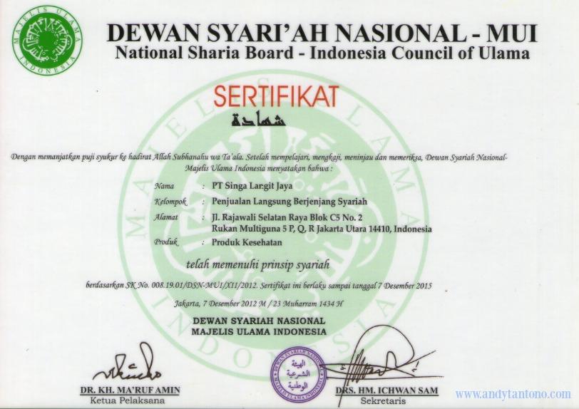 Bisnis Tiens Syariah