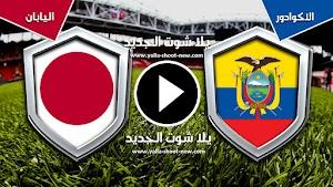 التعادل الإيجابي ينهي مباراة اليابان والاكوادور في كوبا أمريكا 2019