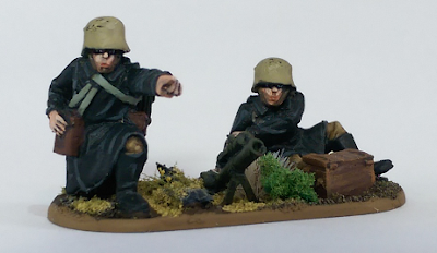 28mm Polish Light Mortar Miniature