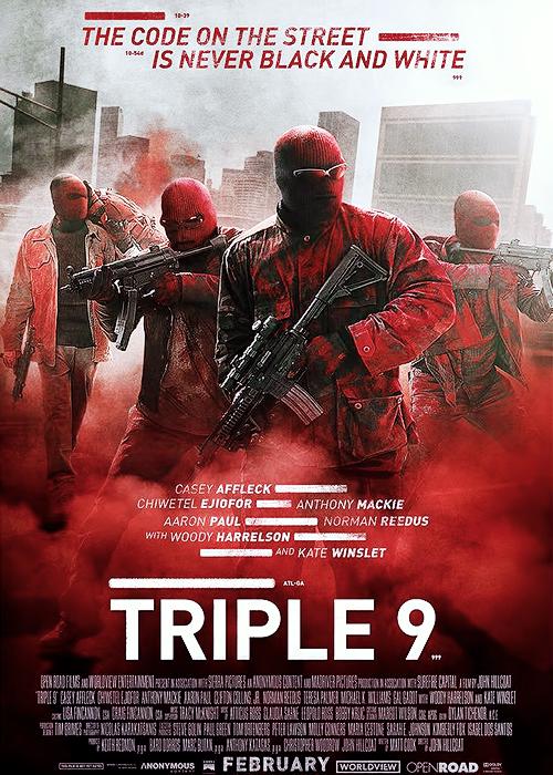 Triple 9 [2016] [DVDR] [NTSC] [Custom – HD] [Subtitulado]