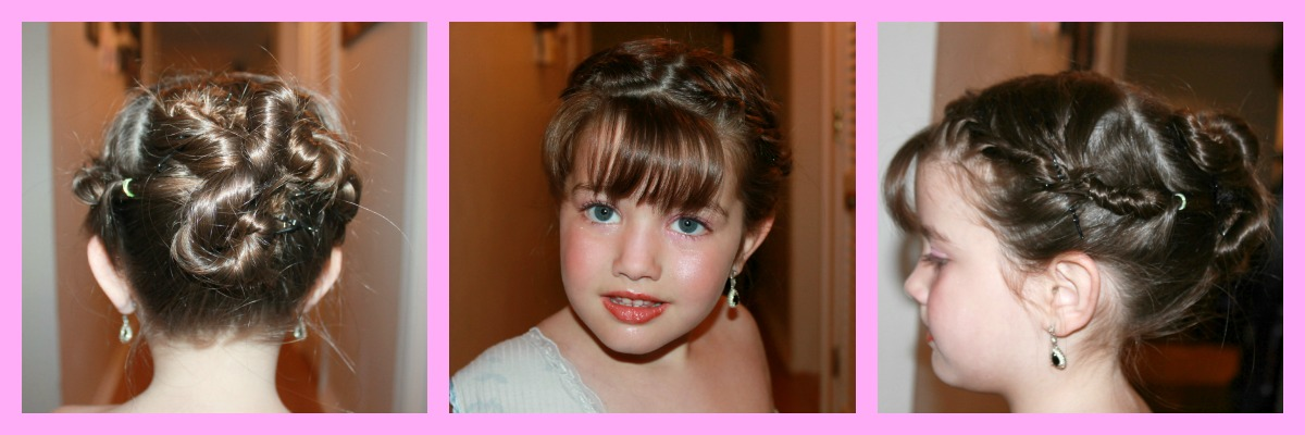 Hair Styles For A Dance: Cute Valentines Day Hairstyle