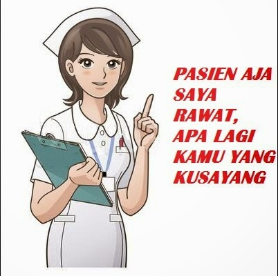 DP BBM Perawat cantik