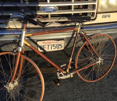 Help Identify Jeff's Strange Wooden Bicycle From Italy