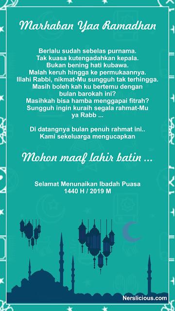 Ucapan Ramadhan 2019 #13