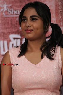 Actress Srushti Dange Stills in Short Dress at Mupparimanam Press Meet  0005.jpg