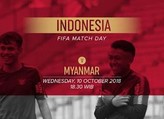 Susunan Pemain Timnas Indonesia vs Myanmar