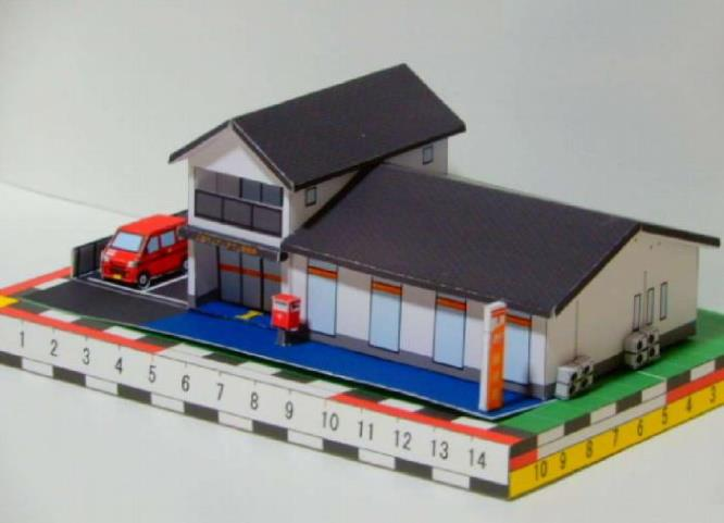 Dollhouse Miniature 1:12 Scale Roof  Ridge Trim