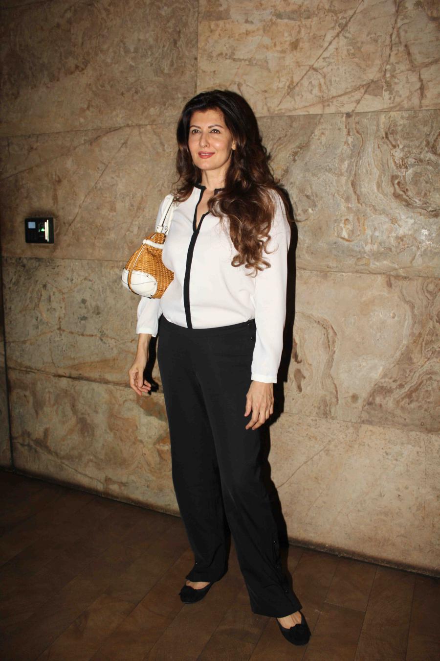 Mumbai Model Sangeeta Bijlani Photos In White Shirt Pant