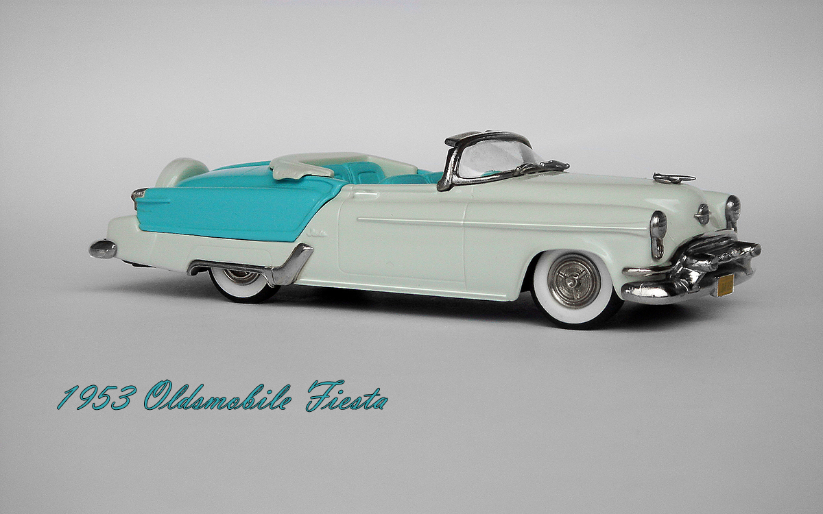 American Icons 143 Collection 1953 Oldsmobile Fiesta Convertible 1950s Cars Brooklib Models