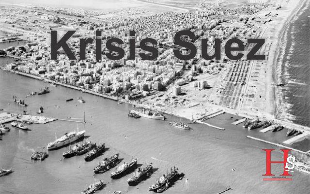 Krisis Suez, Ketika Mesir sebagai Arena Perang Dingin