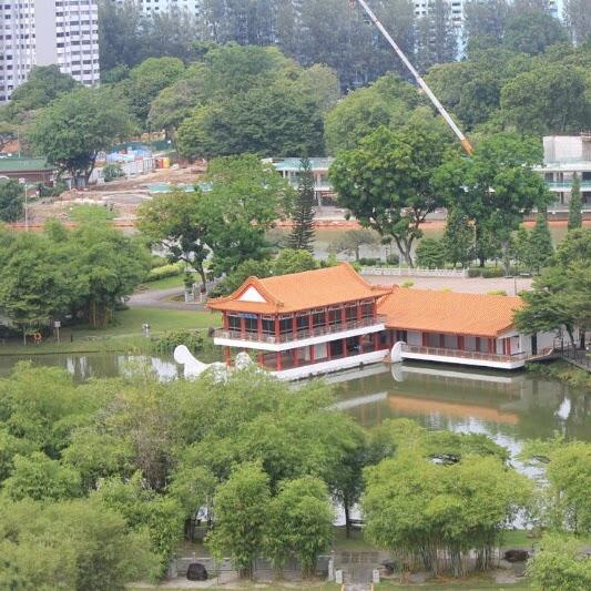 Sepotong Tiongkok di Chinese Garden Singapura