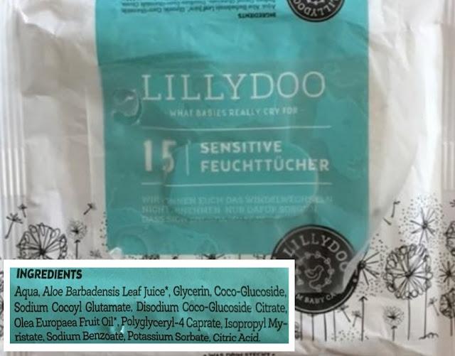 lingettes lilydoo - unpeuplusgreen