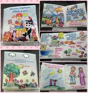 Gambar Buku Bantal Islami Ciptaan Allah