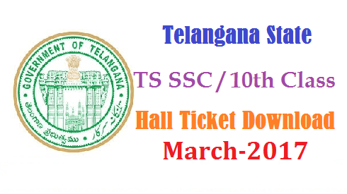 SSC/10th March 2017 Public Examinations Download Hall Tickets @bsetelangana.org | SSC March 2017 Exam Hall Tickets Download | 10th Class Examinations March 2017 Admit Cards available at http://bsetelangana.org Directorate of Govt Examinations Telangana | Board of SSC Telangana State Placed Hall Tickets at its Official Website to Download Step by Step proces to Download SSC/10th Hall Tickets for March 2017 Public Examinations | Board of Secondary School Education Telangana posted SSC/10th Hall Tickets @bsetelangana Official Website