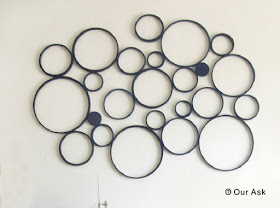 Paper Ring Circle Wall Art