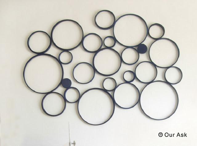 Paper Ring Circle Wall Art