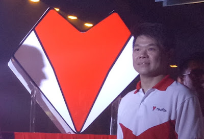 The new redfox logo along with its CEO