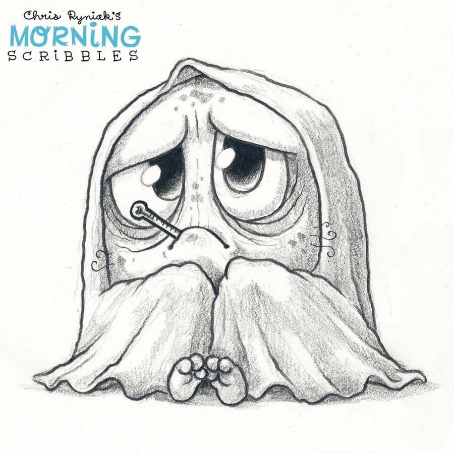 07-Seasonal-colds-Chris-Ryniak-Cute-Creatures-www-designstack-co