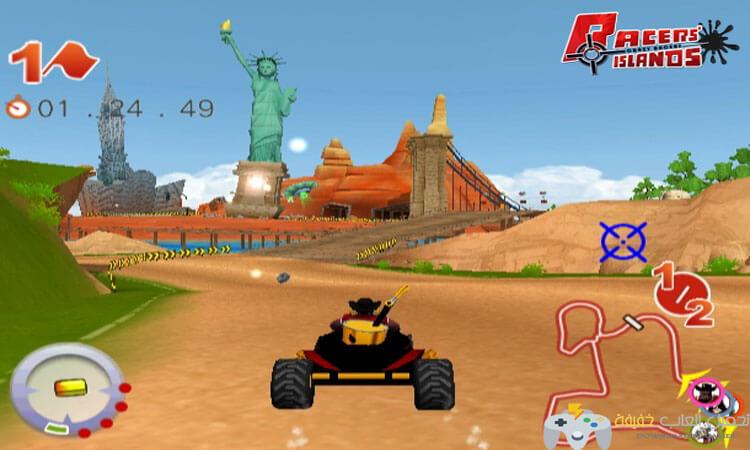 تحميل لعبة سباق سيارات الشاطئ
