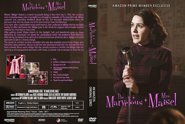 The Marvelous Mrs. Maisel DVD Cover