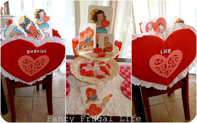 Pottery Barn Kids Inspired Chair Backs Amp Our Valentine S