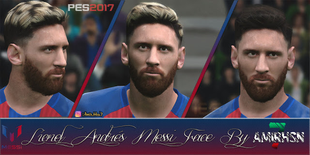 Lionel Messi New Face PES 2017