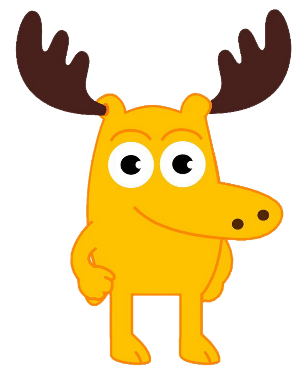 Cartoon Characters: Moose and Zee