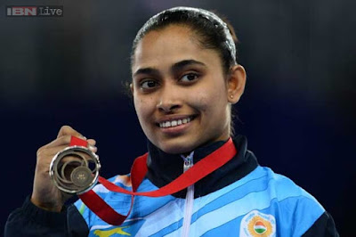 First female Indian gymnast ever to qualify for Olympics