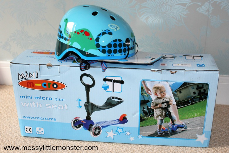 babies first birthday gift ideas - mini micro scooter review