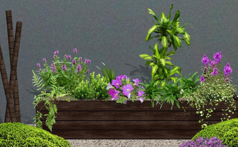 arreglos para jardineras - diseño de jardines 3D foto 3 jardines - jardineras modernas