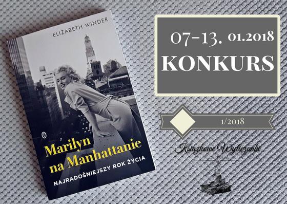 "KONKURS ""Marilyn na Manhattanie"" Elizabeth Winder"
