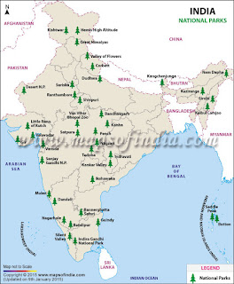 National Parks in India :- complete list