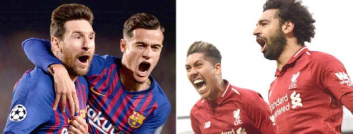 التشكيل المتوقع لمباراة برشلونة وليفربول اليوم الأربعاء 1/5/2019 في ذهاب بطولة دوري أبطال أوروبا