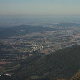 Mirante da Serra da Rocinha, em São José dos Ausentes - Vista de Cidades do Norte Catarinense