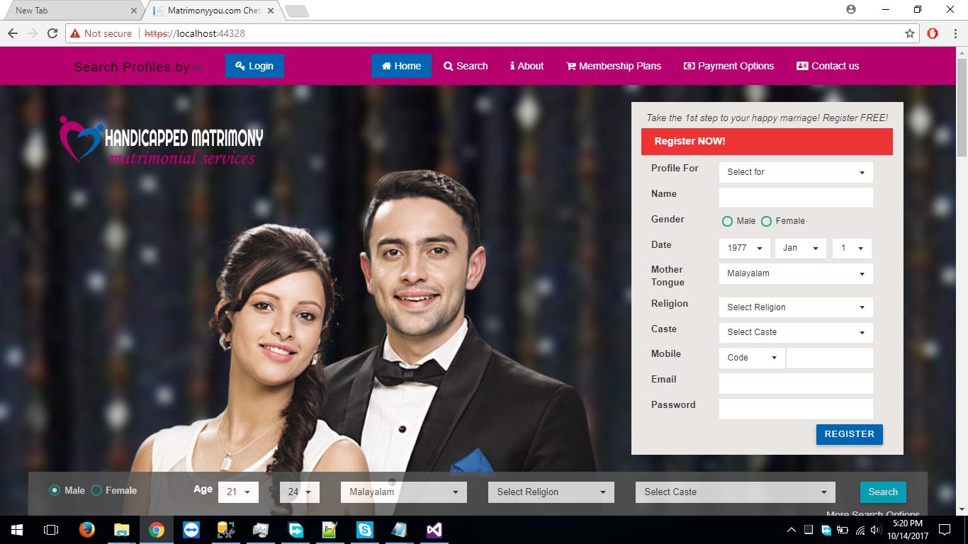 Christian Matrimonial Website
