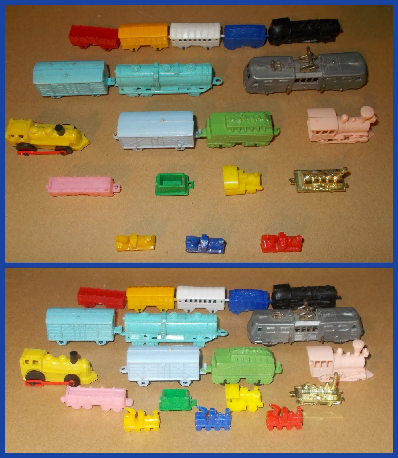 Small Scale World: T is for Trains and Boats and Planes