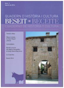 CUADERNO DE HISTORIA Y CULTURA, BECEITE Nº 5