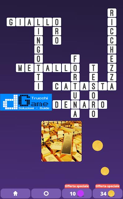 Soluzioni One Clue Crossword livello 16 schemi 8 (Cruciverba illustrato)  | Parole e foto