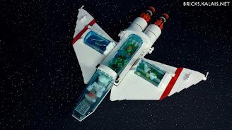 [MOC] Statek kosmicznego szefa kuchni
